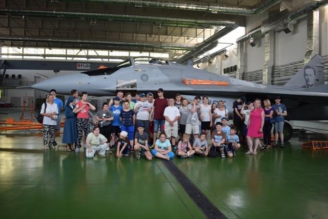 Z wizytą 23 Bazie Lotnictwa Taktycznego